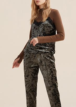 欧美中长款长袖羊毛呢大衣女修身
